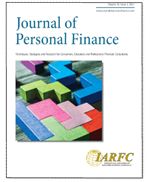Journal of Personal Finance, Volume 16 Issue 1 2017