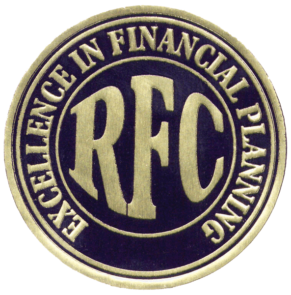 RFC Excellence in Financial Planning seal, SF1091