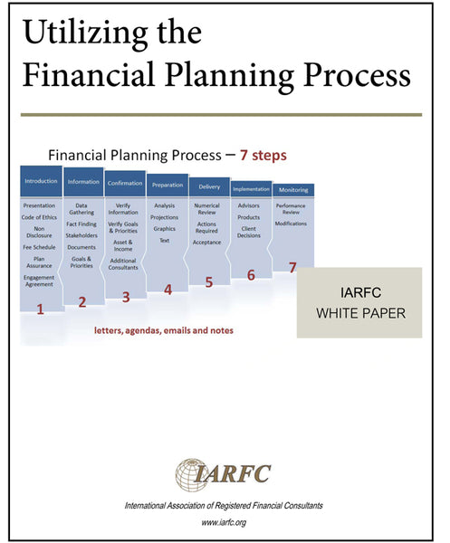 Utilizing the Financial Planning  Process White Paper