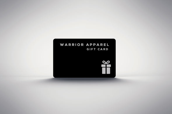 Warrior Apparel Gift Card