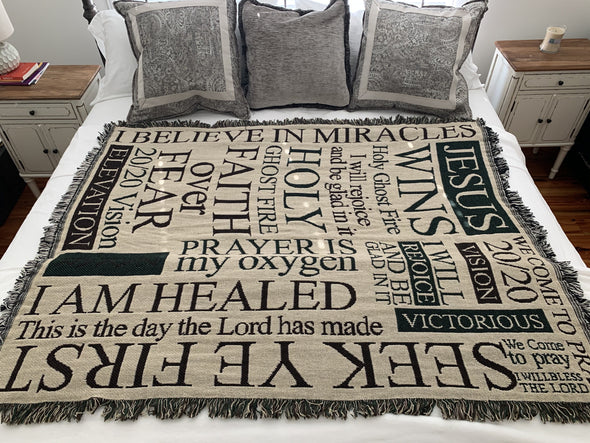 WARRIOR NATION 2020 LIMITED EDITION AFFIRMATION THROW