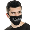 Modal Antibacterial face mask —No Plague Here