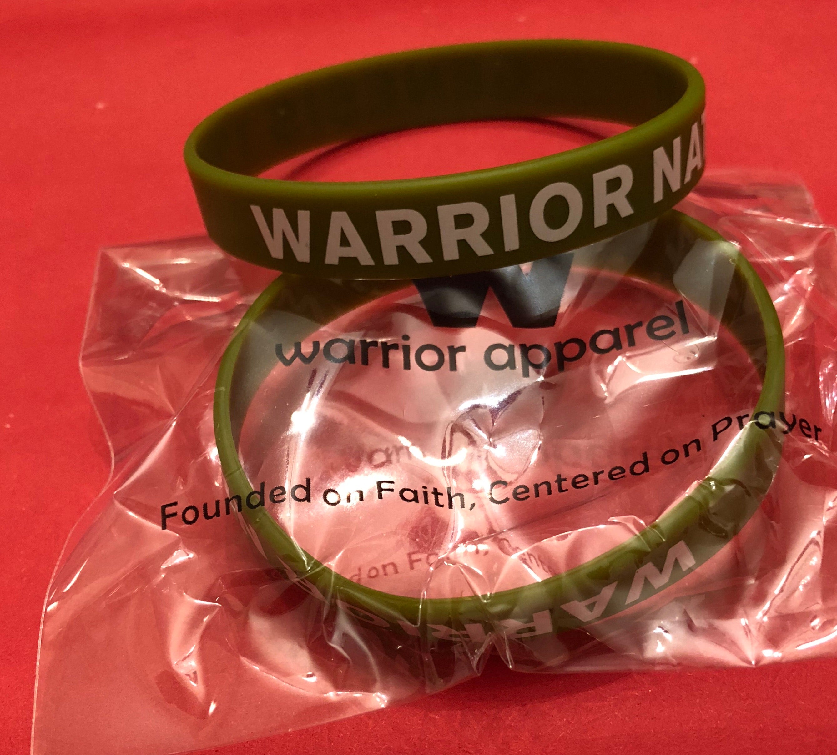 Warrior Nation Wristband