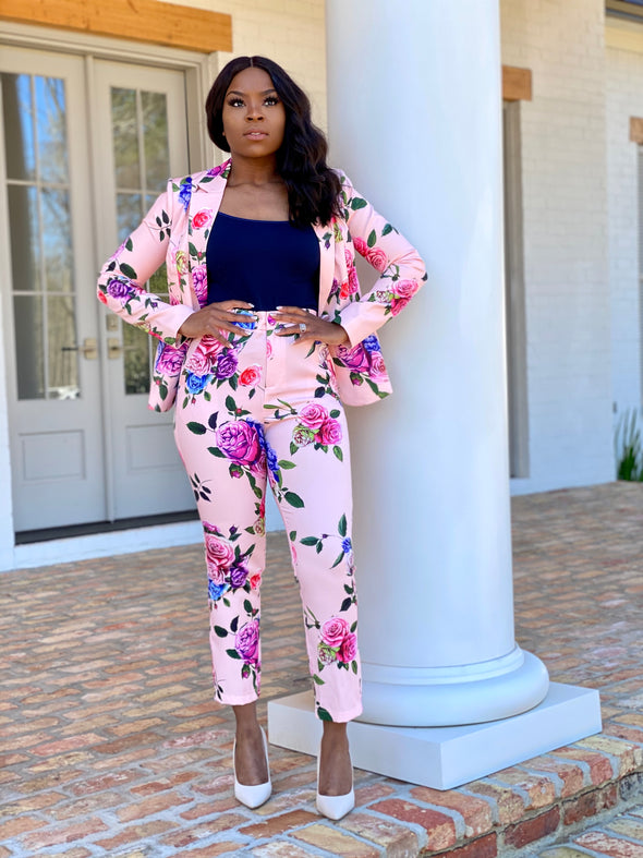 The Rose Pant Suit