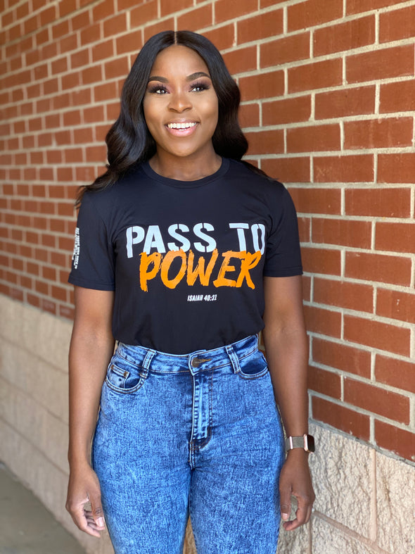 Pass to Power unisex tee