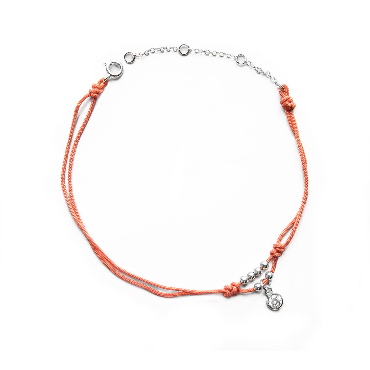 products diamond silver coral making anklet tobillera