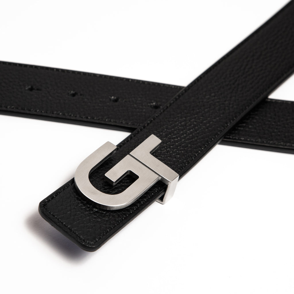Men's Reversible Leather Belt  - Double Color (Brown/Black) - GT collection