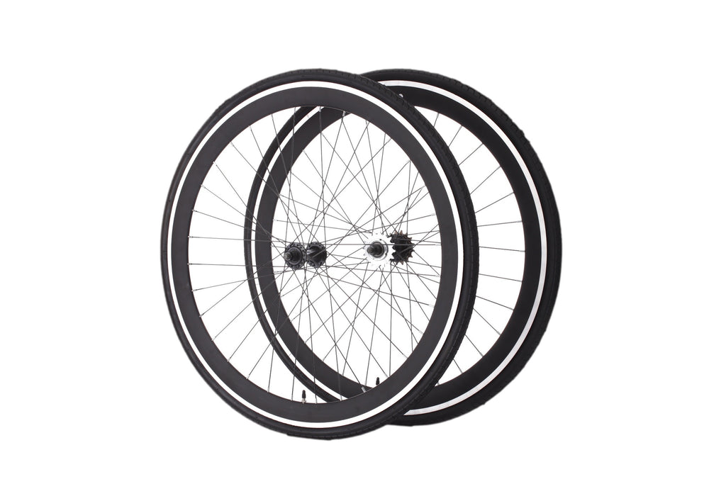 Black Wheel Set