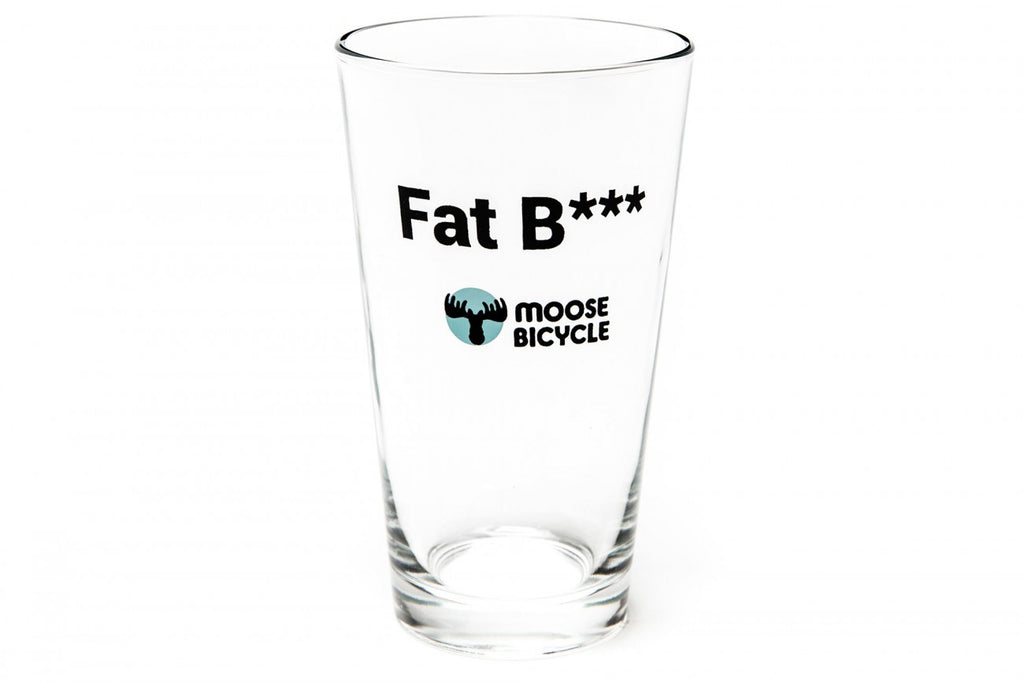 Moose Fat Beer Glass
