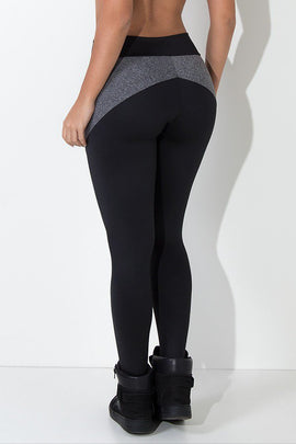 Lisa Trousers with Mix Detail