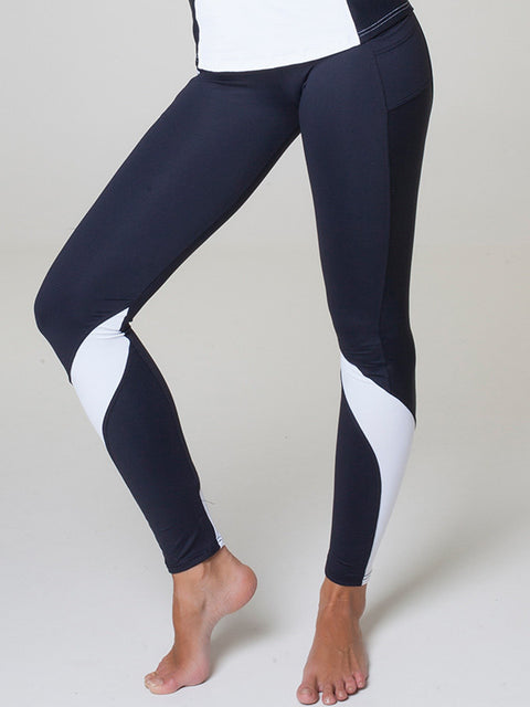 Black & White Jamar Leggings