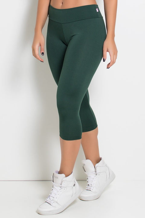 Capri pants green