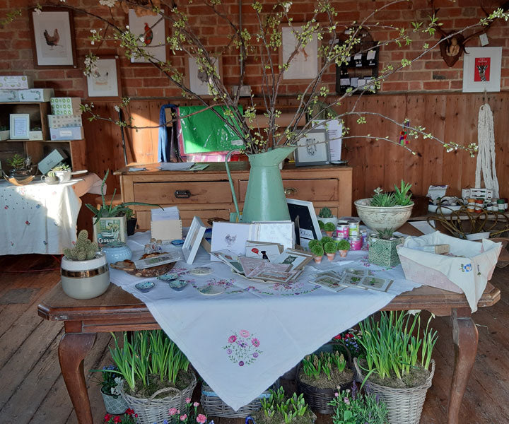the artisan shop in the granary – wild rose flower company