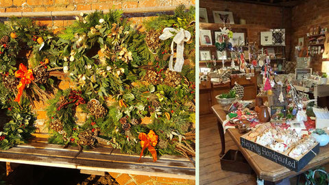 wild rose flower company granary gift shop and handmade christmas wreaths