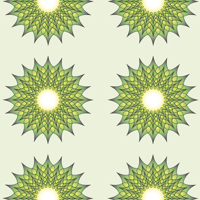 green spikes sleeve design