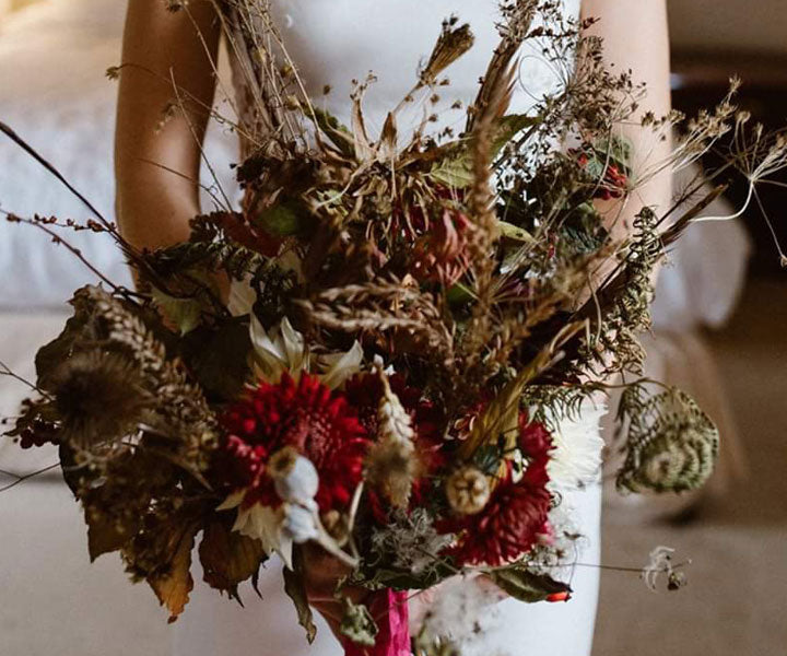 local and sustainably grown wedding flowers – wild rose flower company