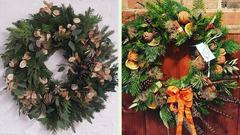 book your christmas wreath workshop