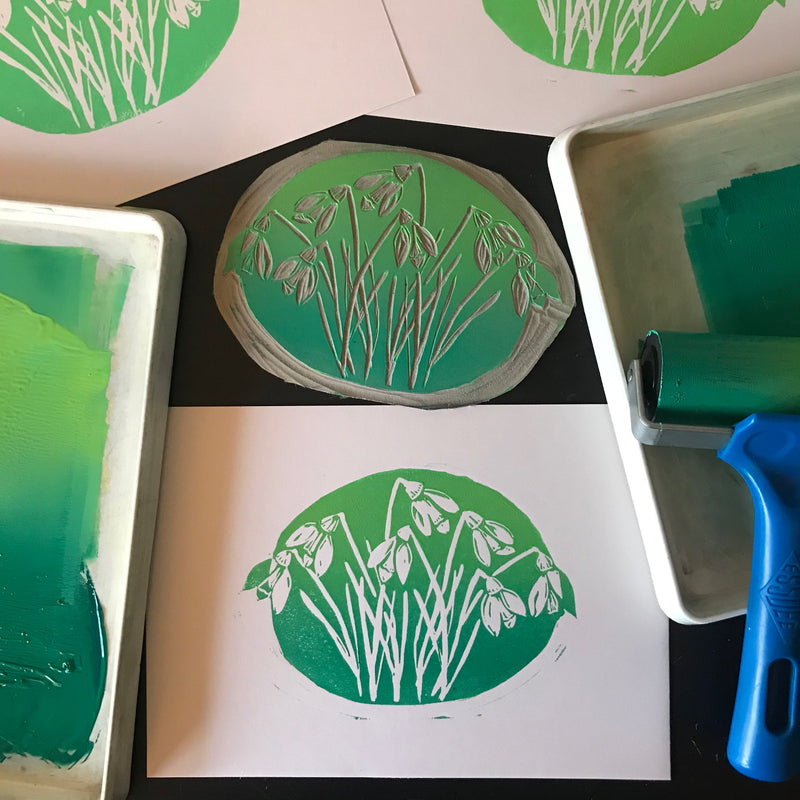 An Introduction to Linocut Printing – with Jo and The Owls