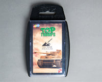 Tank Museum Top Trumps Card Game