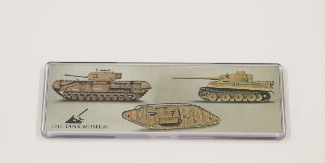 Tank Museum Large Acrylic Magnet