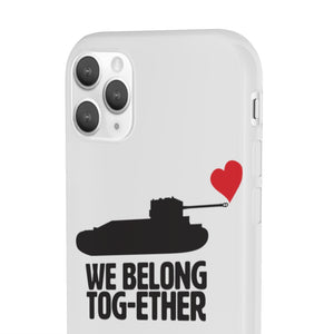 We Belong Tog-ether with Heart Phone Case - Limited Edition - The Tank Museum