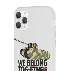 We Belong Tog-ether Camo Phone Case - Limited Edition - The Tank Museum