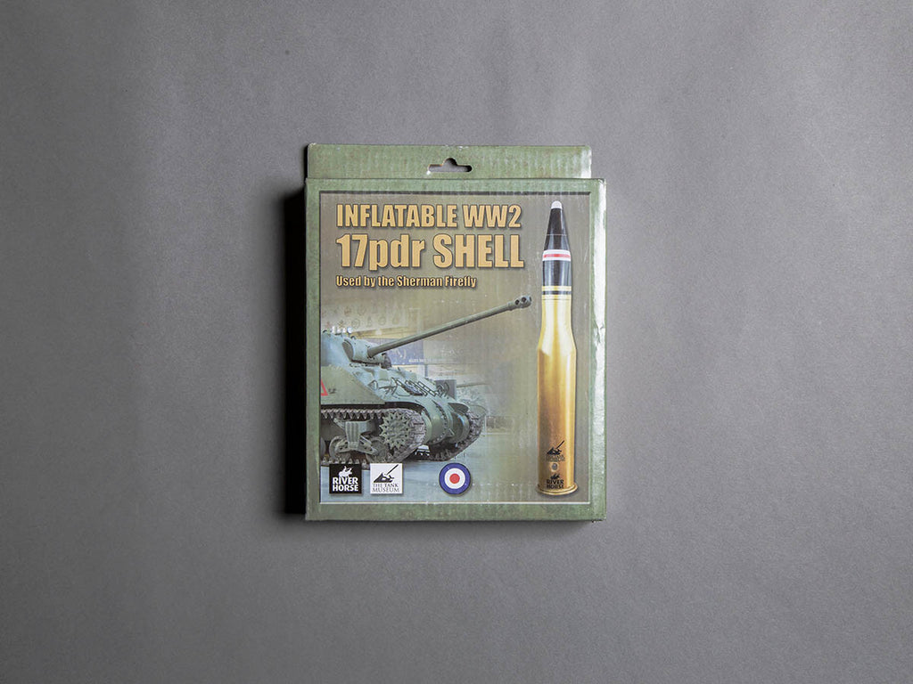 Inflatable World War Two 17pdr Shell