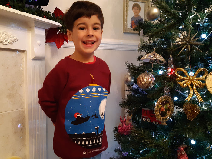 Kids Christmas Bauble Sweater