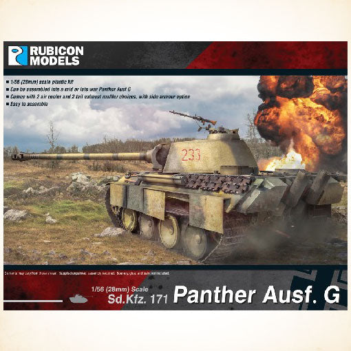 Rubicon Models: 1/56 Panther Ausf. G