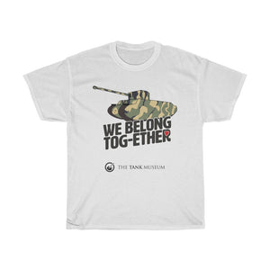 We Belong Tog-ether! Camo T-Shirt - Limited Edition - The Tank Museum