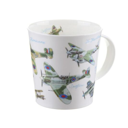 Dunoon Fine Bone China Classic Planes Collection Mug