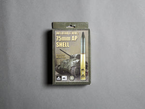 Inflatable World War Two 75mm AP Shell