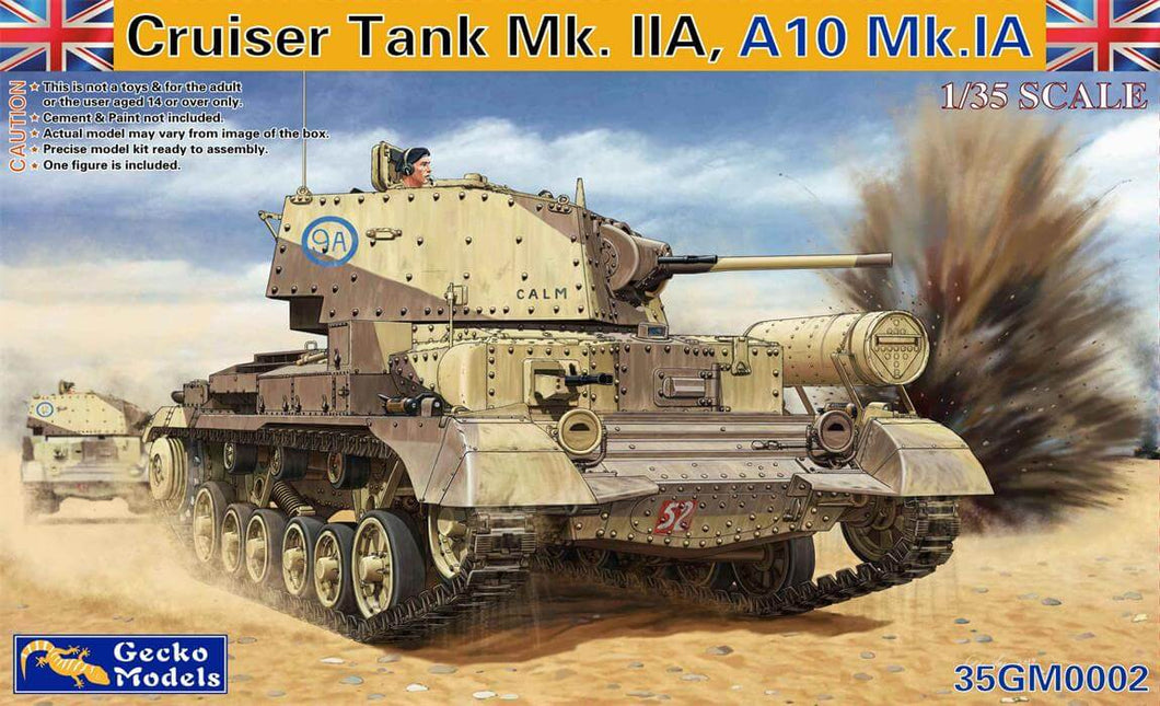 Gecko 1/35 Cruiser Tank A10 Mk1A Model - The Tank Museum
