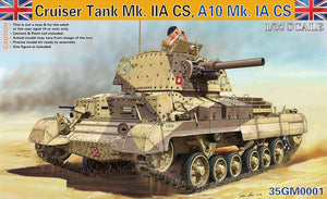 Gecko Cruiser Tank A10 Mk1A CS Model
