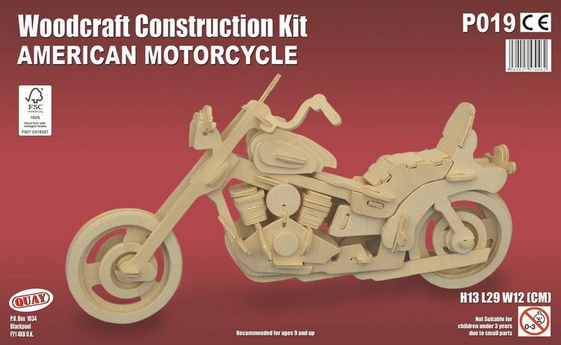 American Motorcycle Woodcraft Kit - The Tank Museum