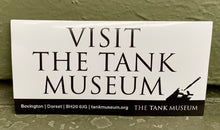 Load image into Gallery viewer, Tank Museum Bumper Stickers - The Tank Museum