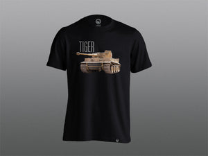 Black Tiger T-Shirt - The Tank Museum