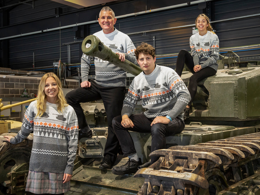 2020 Limited Edition Knitted Christmas Jumper - The Tank Museum
