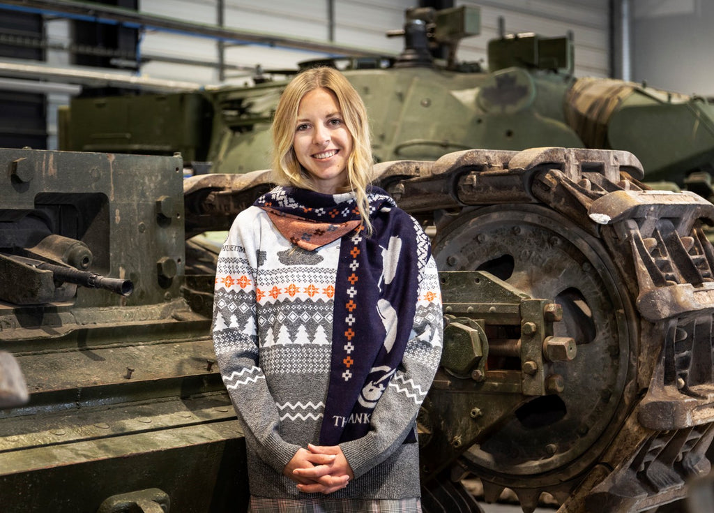 Limited Edition Tank Museum Scarf - The Tank Museum
