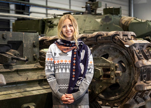 Limited Edition Tank Museum Scarf