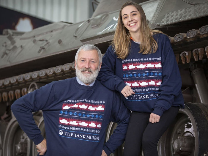 Tank Museum Christmas Sweater