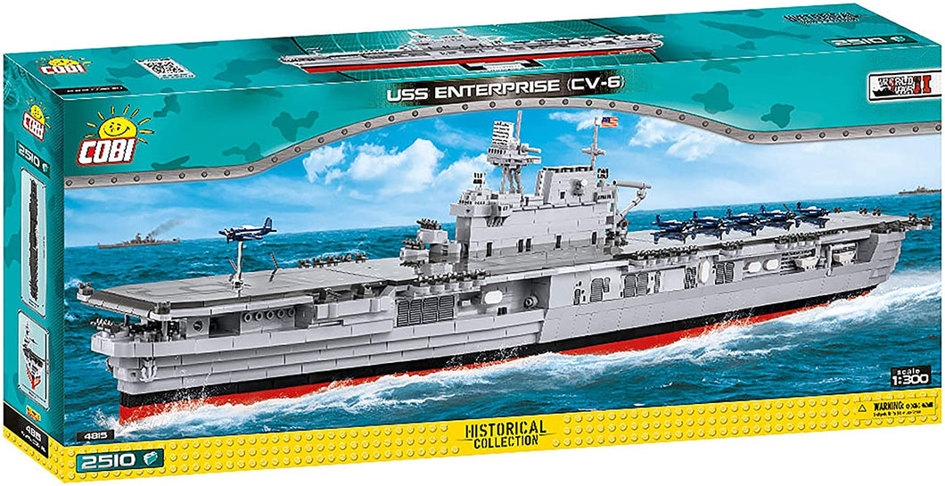 Cobi USS Enterprise (CV-6)
