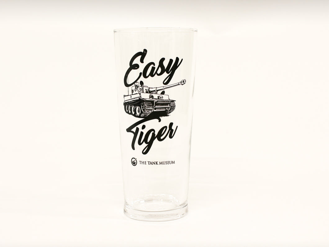 Easy Tiger Pint Glass