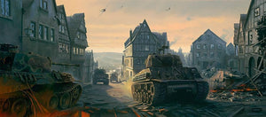 Into the Dragon's Lair 'Fury' Prints - Limited Edition - The Tank Museum
