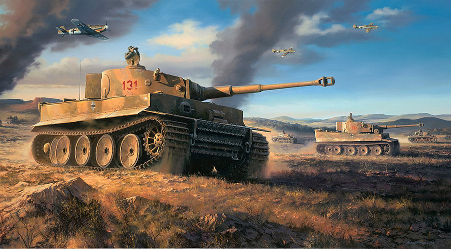 Panzer Marsch 'Fury' Prints - Limited Edition