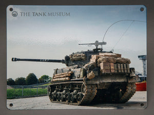 Fury Metal Sign - The Tank Museum