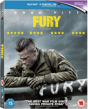 Fury Blu-Ray - The Tank Museum