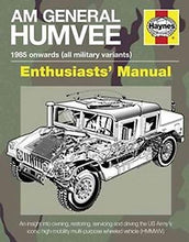Load image into Gallery viewer, AM General Humvee Haynes Enthusiasts' Manual - The Tank Museum