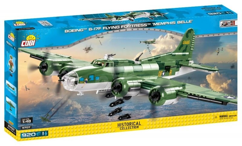 Cobi Boeing B-17F Flying Fortress 'Memphis Belle'