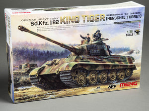 "Meng German Heavy Tank Sd.Kfz.182 ""King Tiger"" - The Tank Museum"